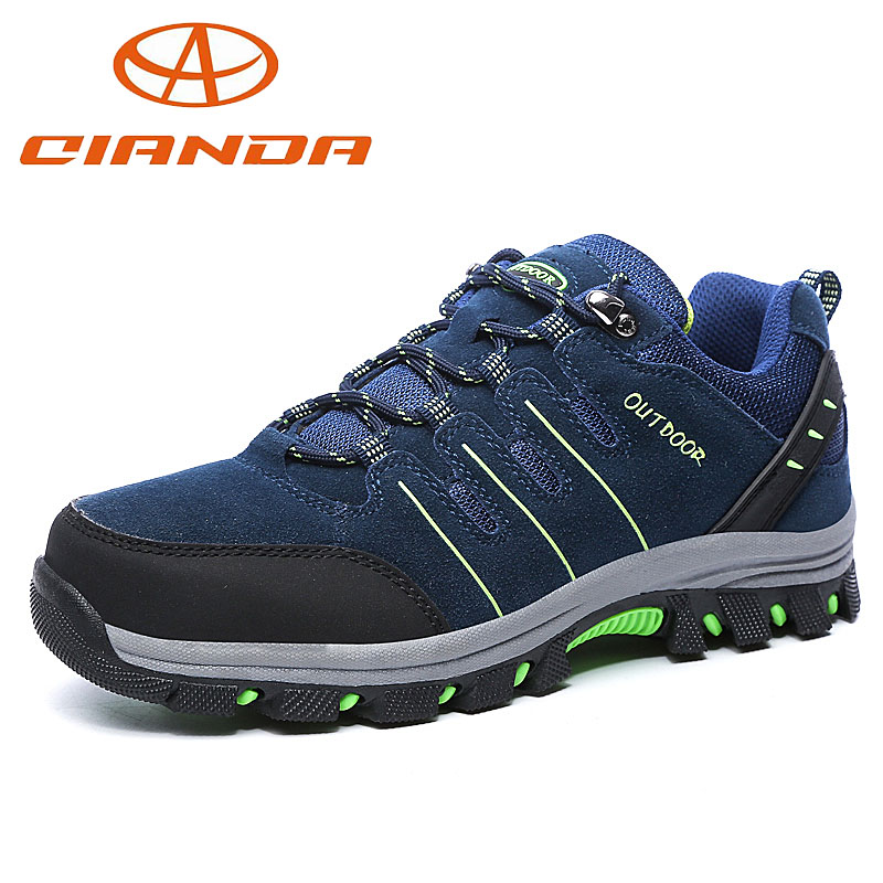 Фотография Spring Top Quality Shoes Woman Sneakers Cheap Waterproof Hiking Shoes Men Unisex