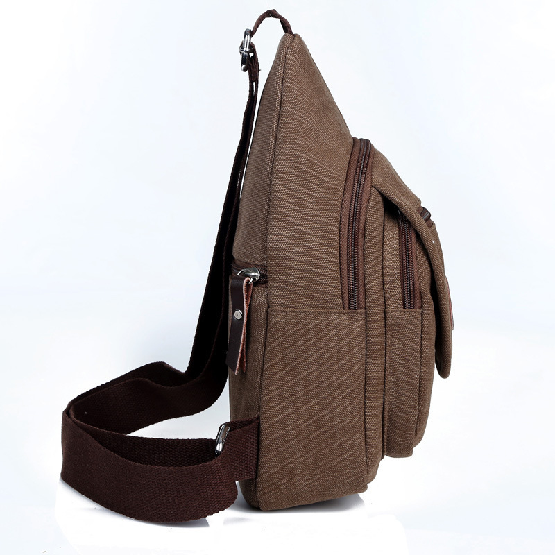 New Fashion Messenger Bag Men Messenger Bags Casual Outdoor Small Sport Chest Canvas Bags Travel Hiking