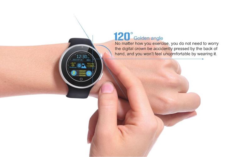 ถูก บลูทูธสมาร์ทนาฬิกานาฬิกาข้อมือกันน้ำกีฬาหน้าจอLEDกันน้ำสำหรับIOS iPhone Android Samsung S7มาร์ทโฟน