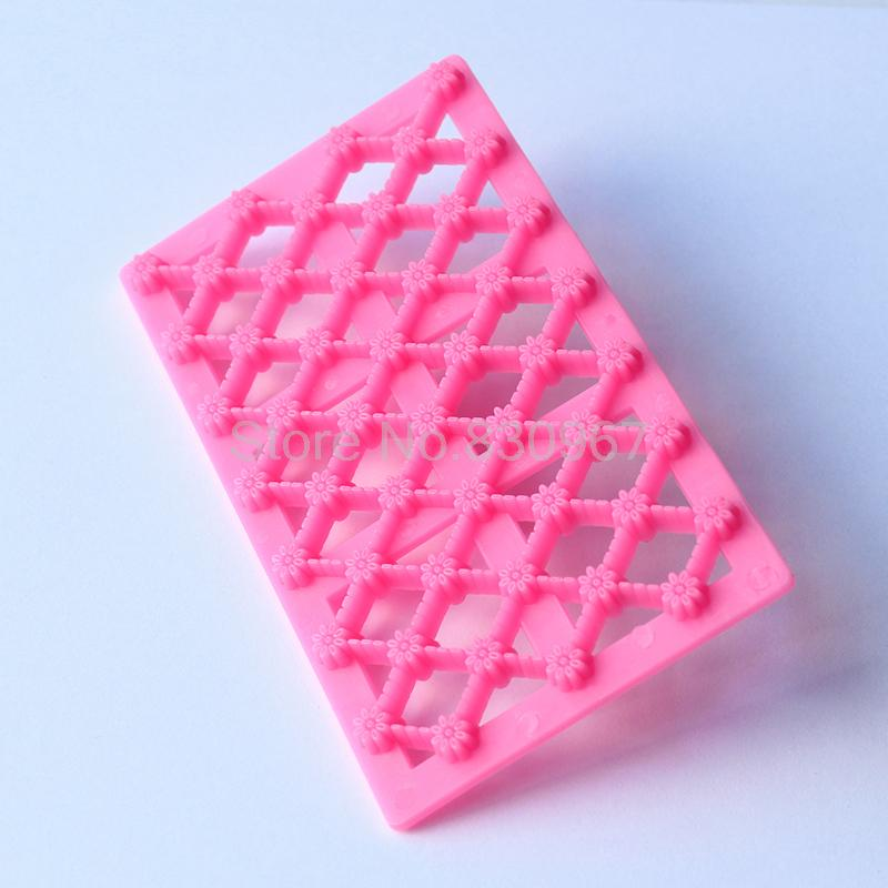 Flower impression Grid modelling cupcake cookie cutter fondant cake decorating tools baking cake decoration mold cake mould B099(China (Mainland))