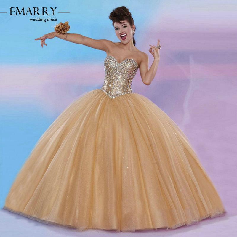 Zz84 очаровательная милая с плеча пышное платье 2016 кружева-up рукавов кристалл пышное платье
