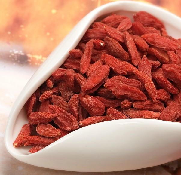 Onsale Zhongning 250g bags Gouqi medlar ningxia Gouji Green Good berry Wolfberry Grade AAAA Chinese Dry