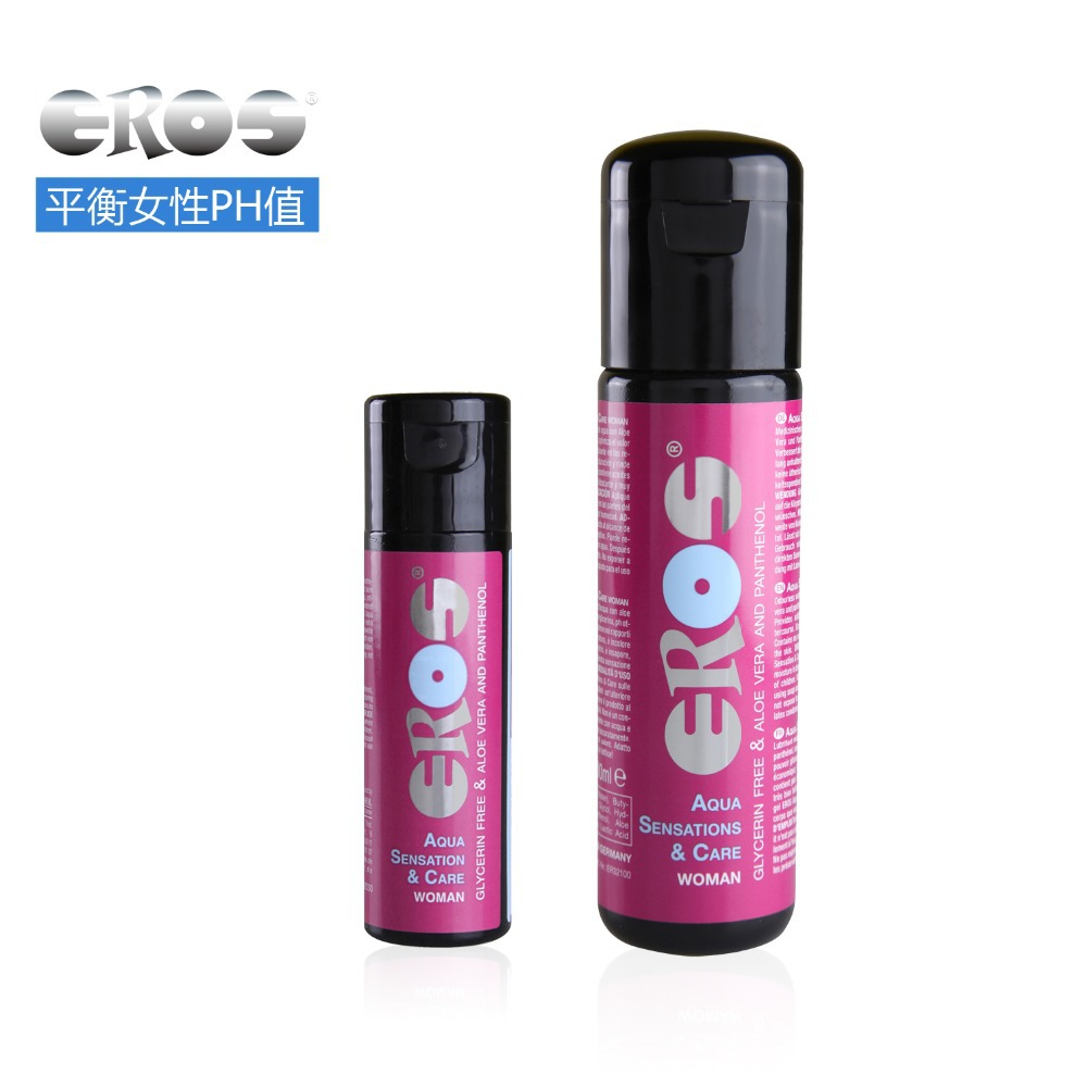 30mL travel sized German EROS Aloe Essence water-based care lubricant sex Fit female vaginal PH Women body oil(China (Mainland))