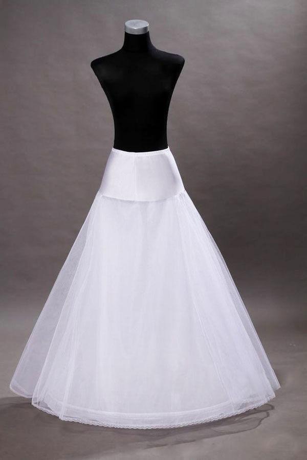 Mouse over image to zoom new white wedding dress bridal 1 Hoop A-Line petticoat Crinoline(China (Mainland))