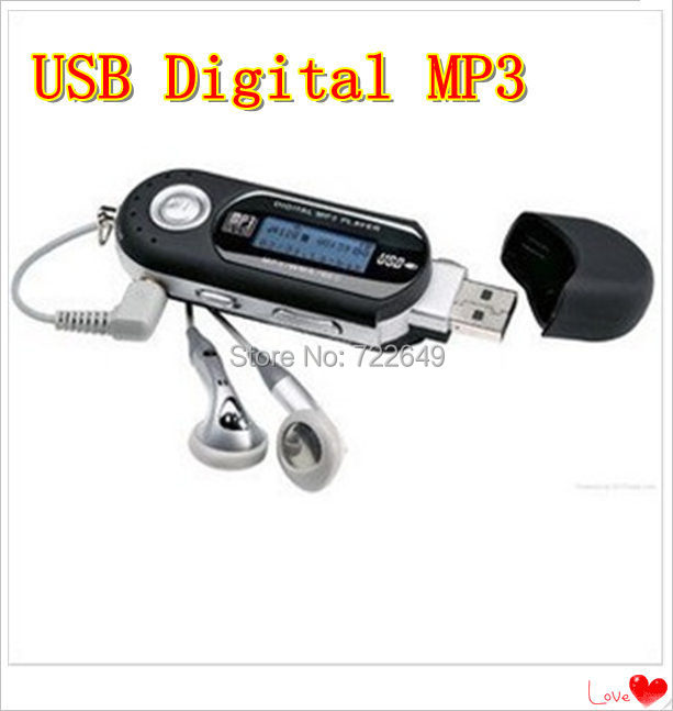 Big discount 10pcs AAA battery USB Digital mp3 Players with REAL 4GB memory/Voice recorder/ FM radio/ lcd screen wholesale(China (Mainland))