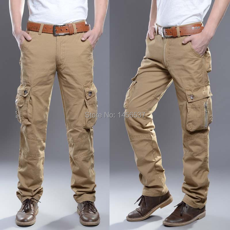 long cargo pants for men - Pi Pants