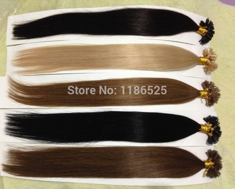 Remove Bonded Hair Extensions Remy Indian Hair