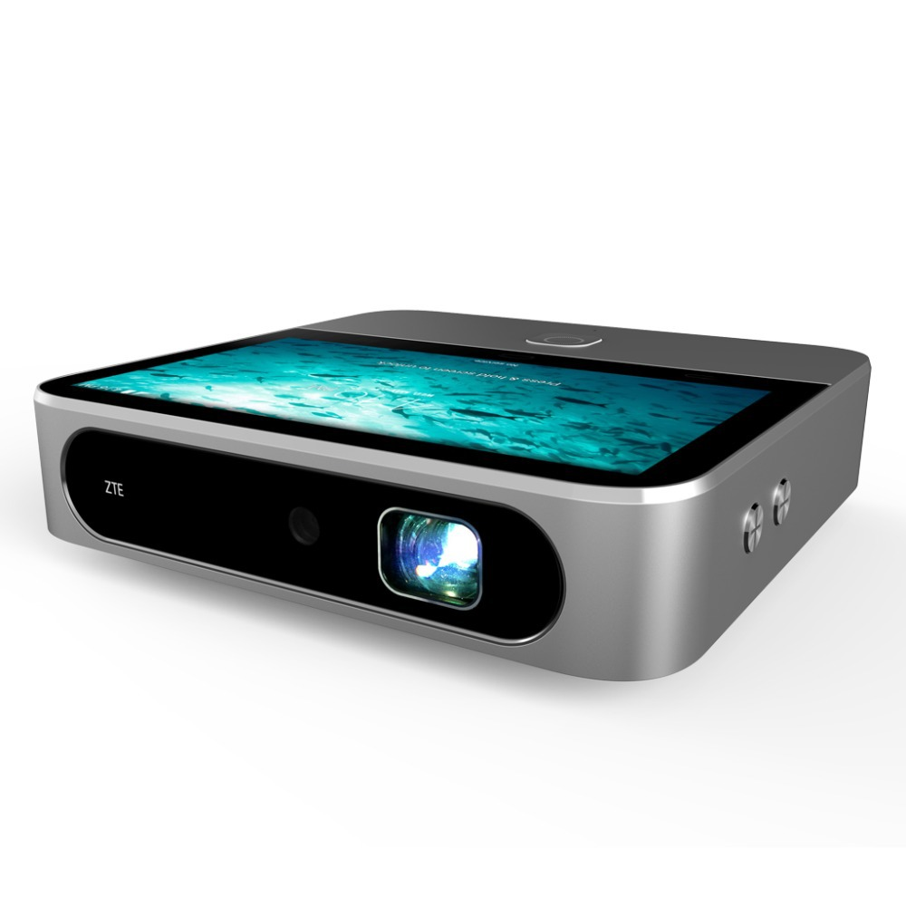 Buy zte spro2 wifi mini portable projector 5 39 39 hd capacitive touch proyector for Small bluetooth projector