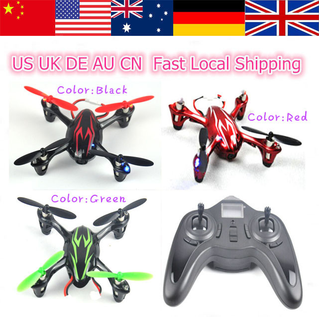 2015 New 1Pcs Hubsan H107 X4 Mini Drone 2.4GHz 4Ch RC 3D RTF Micro Quadcopter Helicopter Local Fast Free Shipping(China (Mainland))