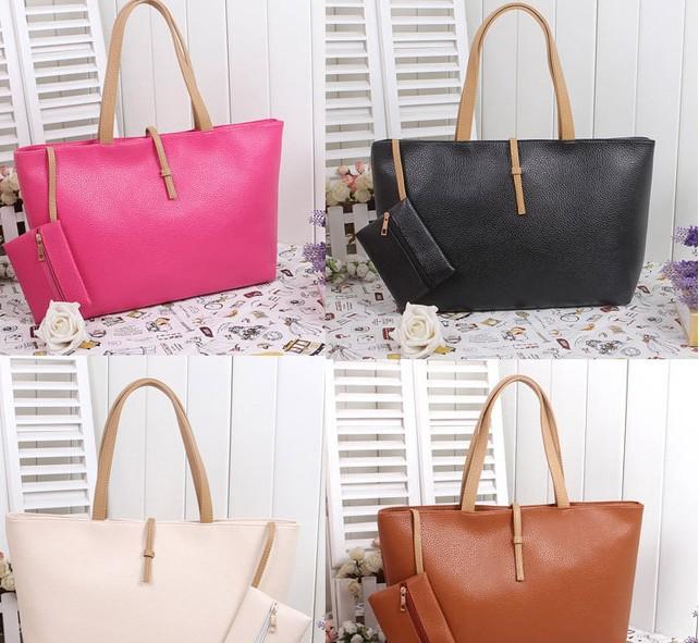 Fashion Women's bag Women's Handbag PU Leather Bag Shoulder Bag(China (Mainland))