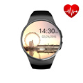 Free DHL 2016 new style Round Touch screen WIFI smart Watch with Android4 4 system GPS