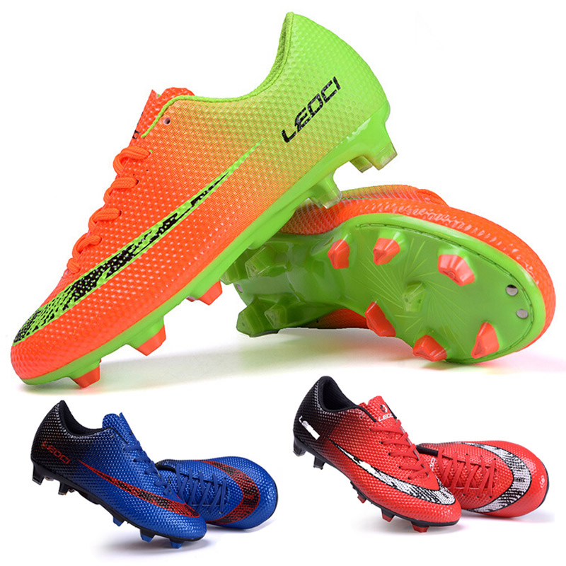 New FG Football Boots Cleats Soccer Shoes Mens Football Cleats Boot Chuteiras Botas De Futbol ...