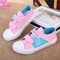 Low kids sneakers boys girls  shoes child Kids Canvas Shoes breathable canvas shoes candy-colored children's sneakers