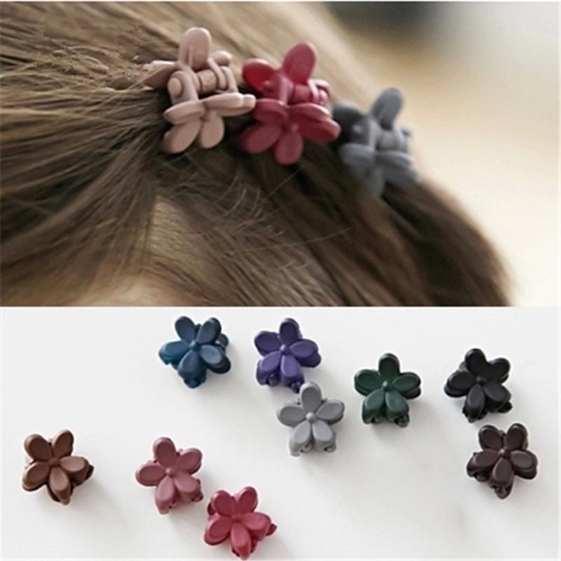 1 bag 10 Korea hair accessories hairpin small flowers gripper original Korean children hair clip bangs wholesale(China (Mainland))