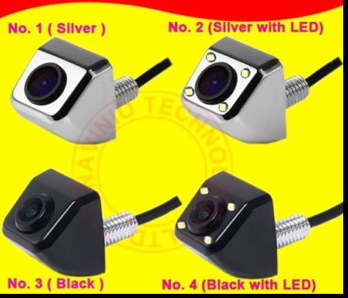 For Sony CCD fiat BMW Audi Peugeot Ford Opel universal car camera Side Front Back mini Car Rear View Reverse Parking Camera HD(China (Mainland))