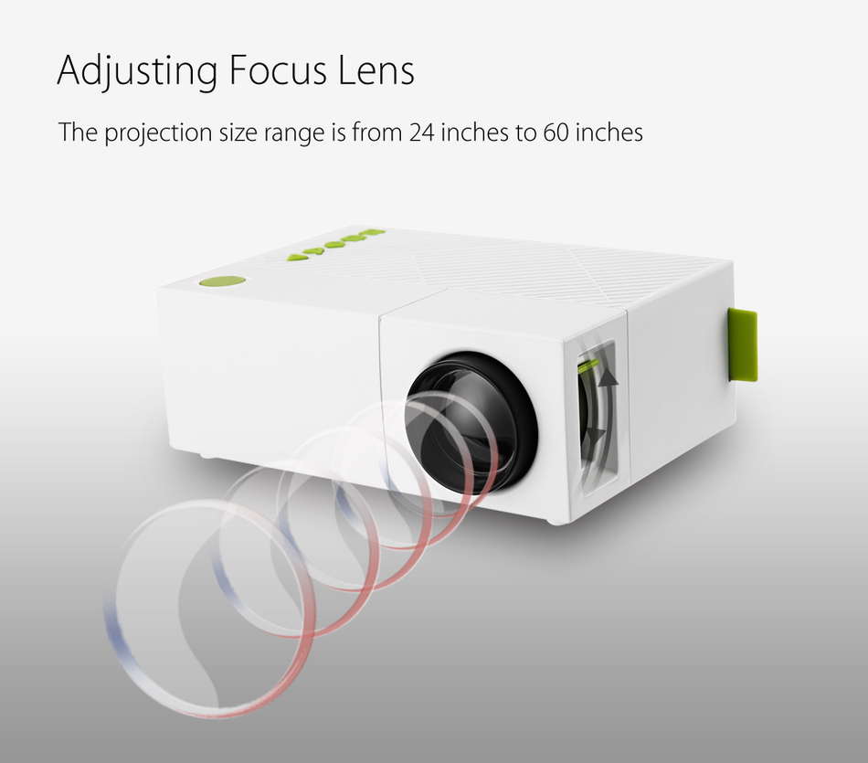 Wholesale original yg310 lcd high quality mini projector for High resolution pocket projector