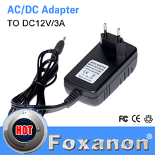 3A 36W lighting transformers AC 100V - 240V to DC 12V Power Supply Adapter Converter Charge for LED Strip LCD Monitor or CCTV(China (Mainland))