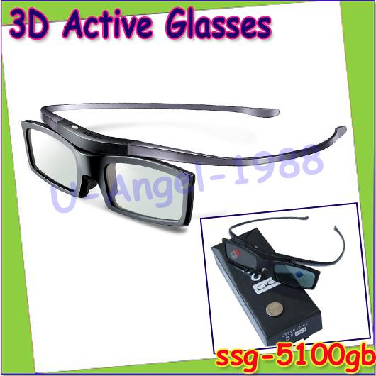 Free Shipping 4pcs/lot For SAMSUNG original active shutter 3d glasses ssg-5100gb new suits for Samsung 3d TV D/ E/ ES/ F/HU<br><br>Aliexpress