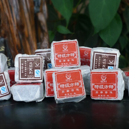 Yunnan Puer Tea Mini Brick chinese puer tea for weight loss 10pcs