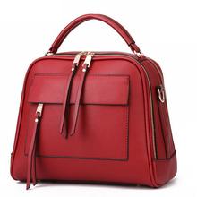 Buy New 2016 women handbag women bags leather handbags famous brand women's pouch bolsas messenger bags female bag MU36 for $14.93 in AliExpress store