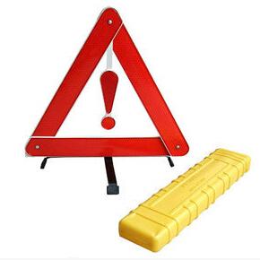 Автомобиль с светоотражающие складной штатив рамки предметы первой необходимости предупреждения безопасности индикация