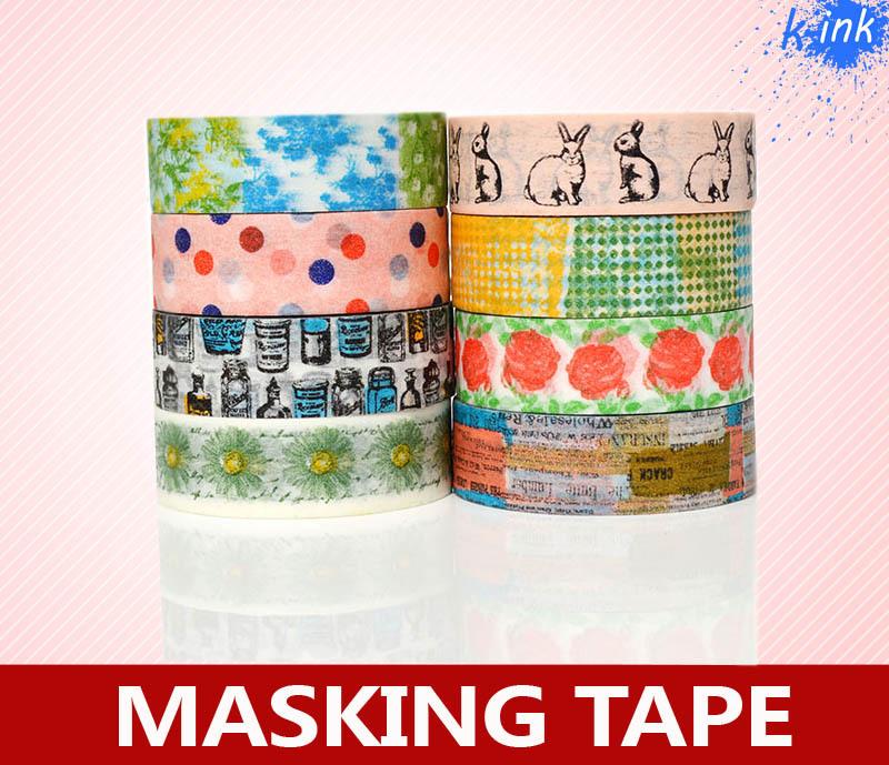 Buy rabbit animal rose flower washi for Decoration masking tape