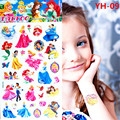 Froze Elsa Anna Temporary Tattoo Stickers Kids 21 10cm Waterproof Princess Stickers Tatoo For Children prince