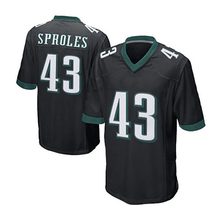 Men #7 Sam Bradford Game #20 #11 Carson Wentz Brian Dawkins #43 Darren Sproles #9 Nick Foles jersey 100% Stitched Logos(China (Mainland))