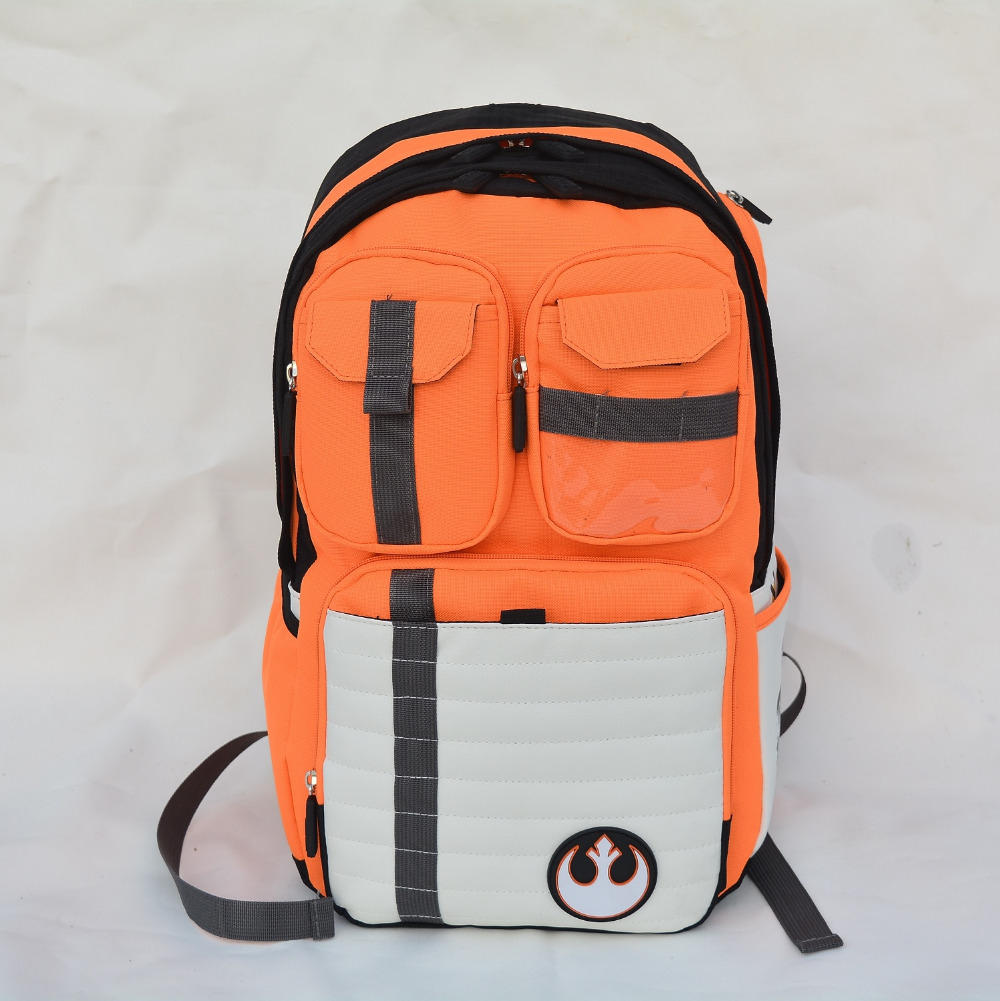 New Star Wars Backpack Rebels Logo Alliance Icon Canvas Teenager School Bag Wholesale Children Schoolbag High College Daypack(China (Mainland))