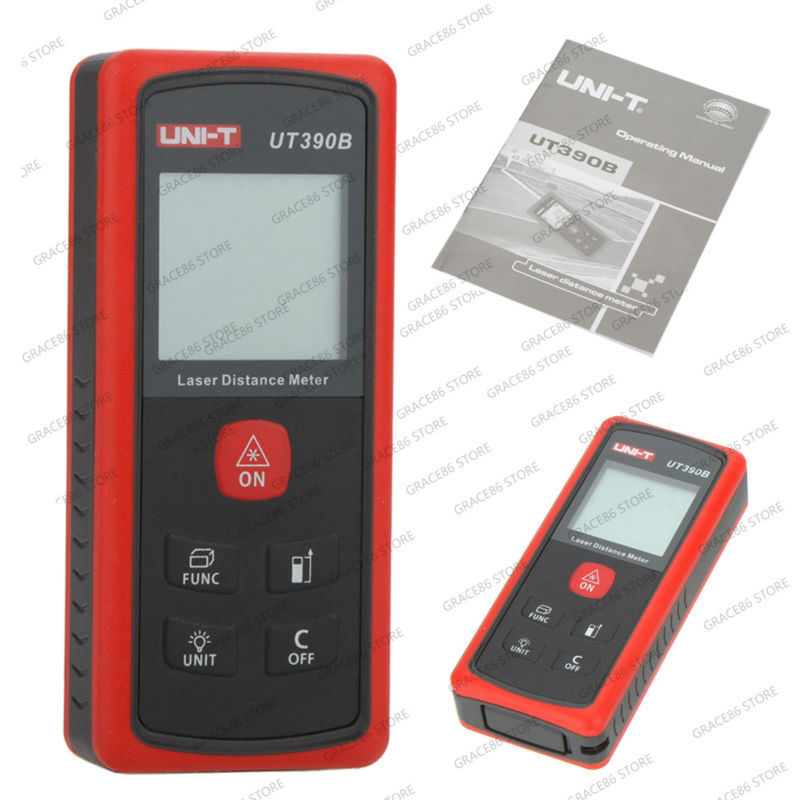 Фотография UNI-T UT390B LCD Laser Distance Meter Range Finder Measure/Diastimeter 45m gB0638