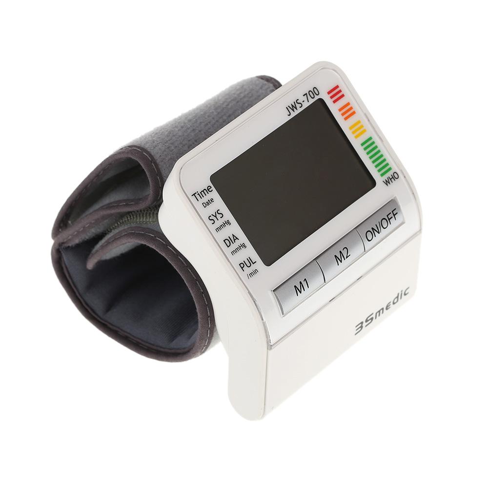 Health Care Automatic Wrist Blood Pressure Monitor Digital Measuring Pulse Rate blood pressure Meter Oximeter(China (Mainland))