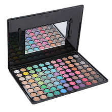 Professional 88 Warm Colors Eyeshadow Cosmetics Set Makeup Matte Beauty Kit with Mirror eye shadow palette Hot Selling(China (Mainland))