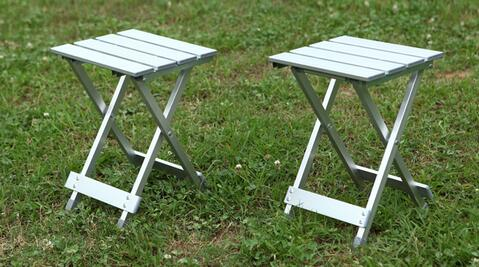 Portable folding table chair outdoor leisure beach camping fishing household ultra light reinforcement Aluminum Alloy campstool(China (Mainland))