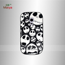 Jack Skellington black  accessories Hard Phone Cases Skin Shell For galaxy s3mini I8190 Back Cover Bags