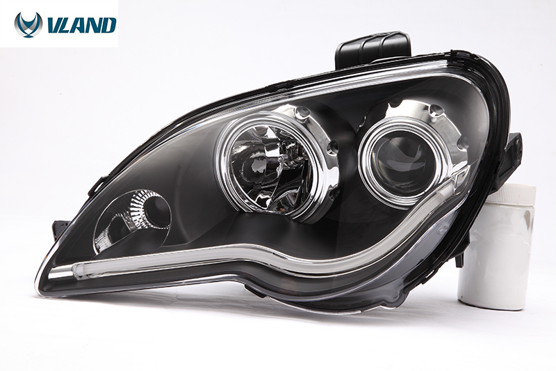 Best price for 2008-2013 Proton GEN2 led headlight angle eyes headlamp with projector lens(China (Mainland))