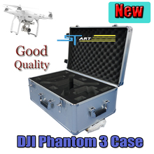 DJI phantom 3 FPV aluminum case Fashion box RC Quadcopter outdoor protection Four axis easy to carry drone box Free Shipping