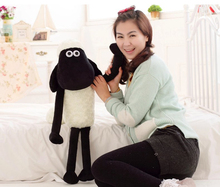 48cm Cute Shaun The Sheep Lamb Plush Toys Doll For Kids, Children's Baby Birthday Holiday Gift, Send Kids Lovely Kid Toy Gift(China (Mainland))