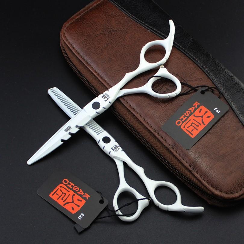 HTB1nEf5PVXXXXa1aXXXq6xXFXXXp - 2017 New KASHO Profissional Hairdressing Scissors Hair Cutting Scissors Set Barber Shears High Quality Salon 6.0inch