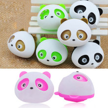 2Pcs Decor Air Freshener Blink Lovely Mini Panda Perfume Fragrance Diffuser For Auto Colorful 4 Color(China (Mainland))