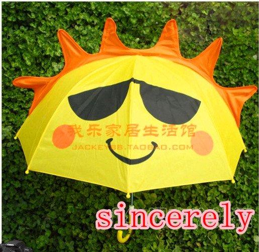 Children's Umbrella cartoon cute umbrella of creative princess long-handled umbrellas(China (Mainland))