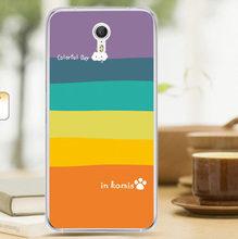 Lenovo ZUK Z1 Case Cover Cartoon Plastic Transparent border Back Cover Phone Case For Lenovo ZUK Z1