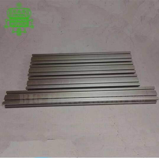 3 pieces 330 mm + 1 pcs 420 mm Makerslide Aluminum Extrusion kit for Buildlog ORD bot 3 D printer frame Aluminum Profiles(China (Mainland))