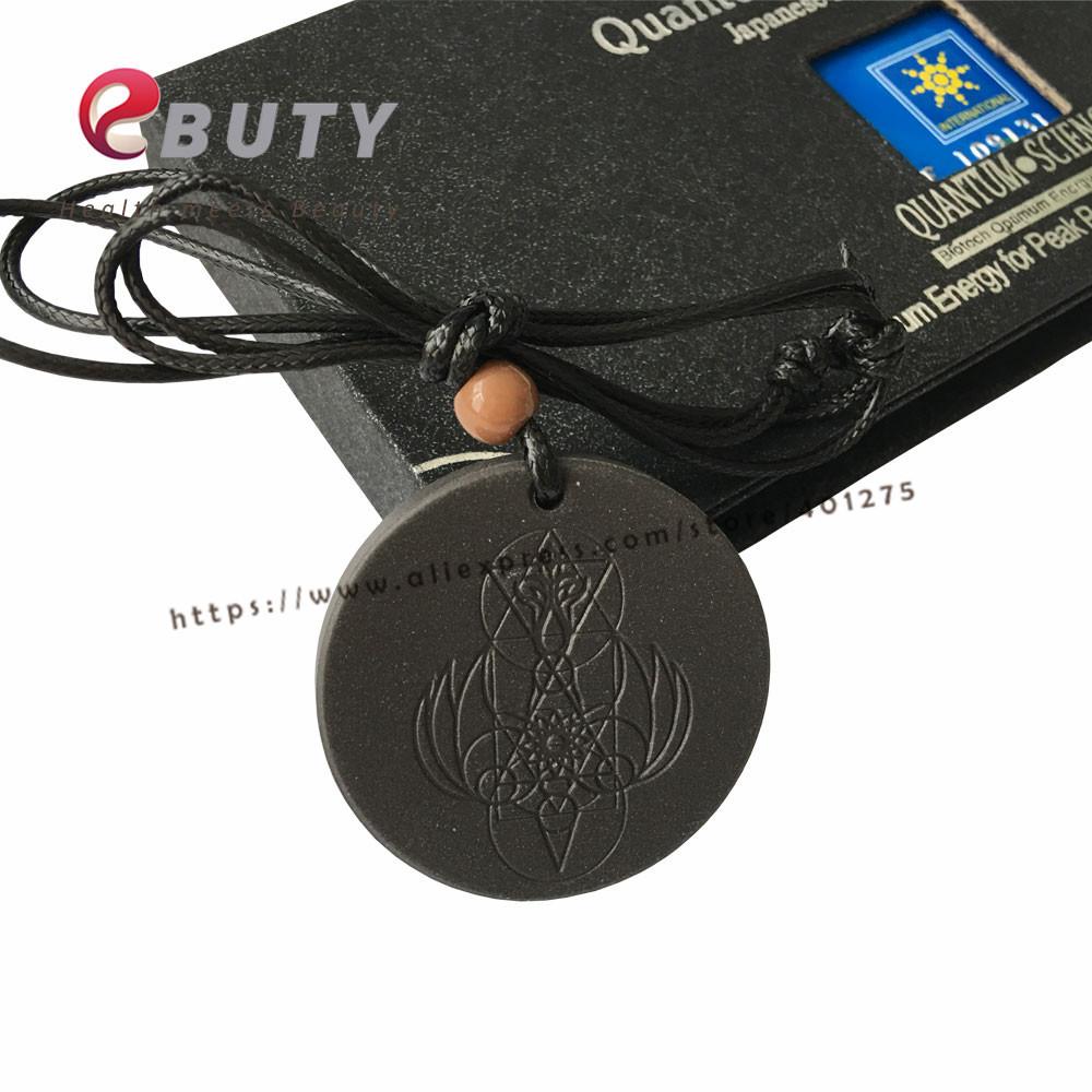 Quantum Angel Pendant REAL Scalar Black Tourmaline EMF Protection Certified Box