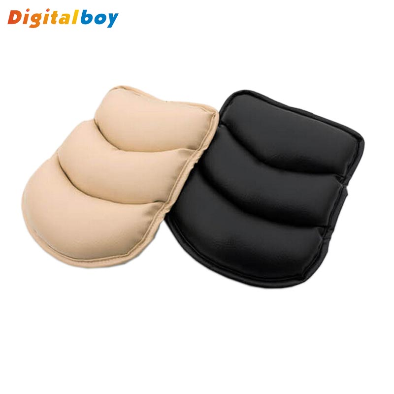 New Car Armrests Pads Vehicle Auto Center Console Arm Rest Padding Protective Case Soft PU Mats Cushion Universal Free Shipping(China (Mainland))