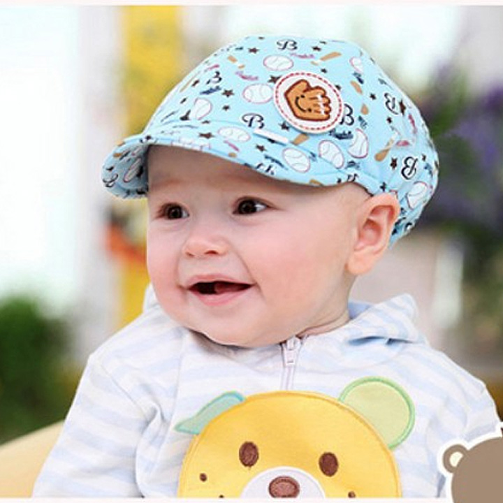 2016 Fashion New Baby Kids Toodler Boy Girl Girls Cotton Hat Sun Baseball Cute Cap 67