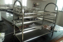 Specializing in the production of multi-functional three-dish rack factory custom large favorably Recommended