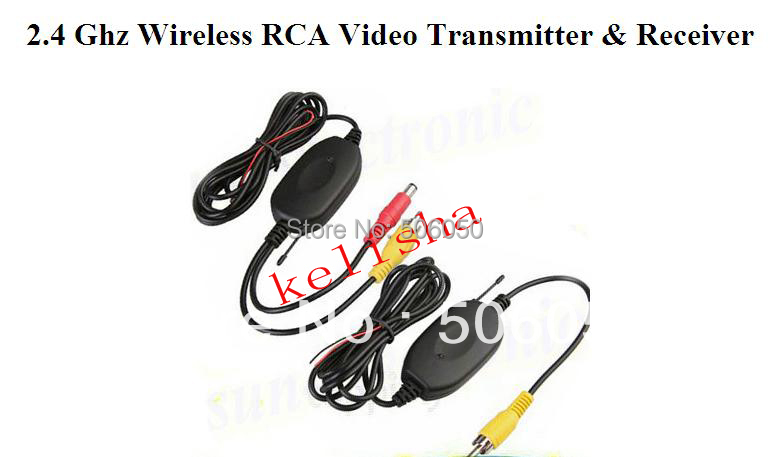 2.4G WIRELESS Module adapter for Car Reverse Rear View backup Camera cam Free Shipping