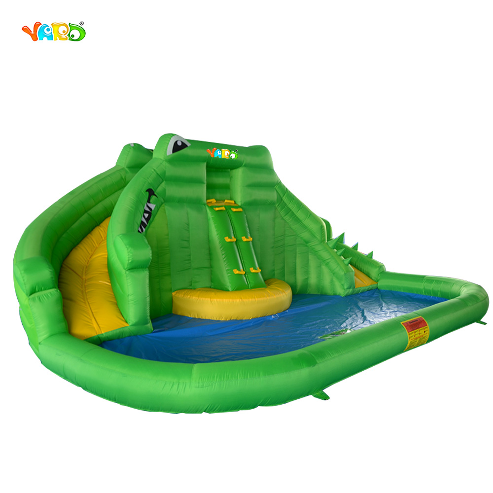 Online get cheap inflatable water slides for Cheap inflatable pool
