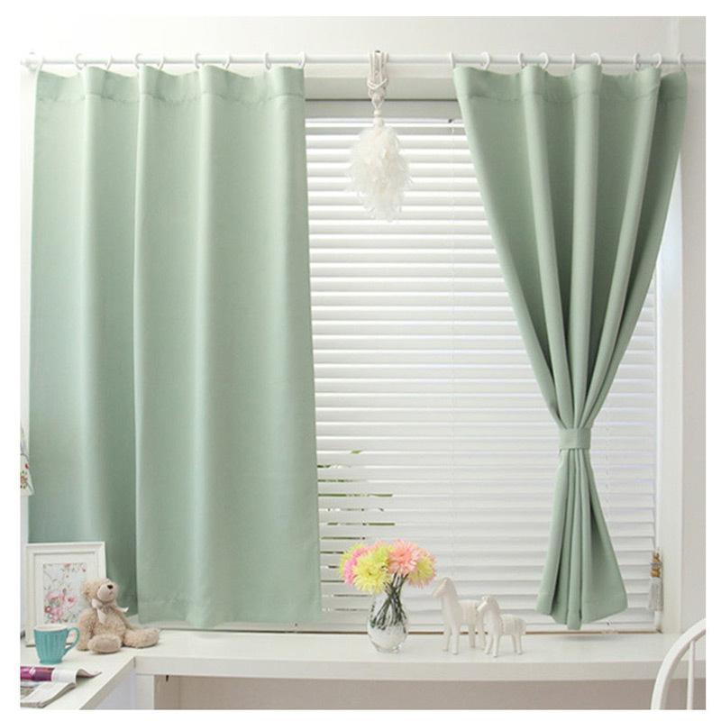 Short curtains Japan style Drapes Blackout fabric Kitchen curtains ...