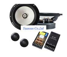 Car Speaker Kit 456.5-inch bass honeycomb cone large magnetic cylinder car audio tweeter